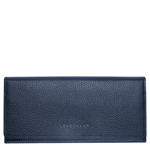 Long continental wallet, Navy, hi-res - View 1 of 2