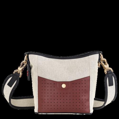 Sac seau S Mademoiselle Longchamp Ecru (10080HSM037) | Longchamp BE