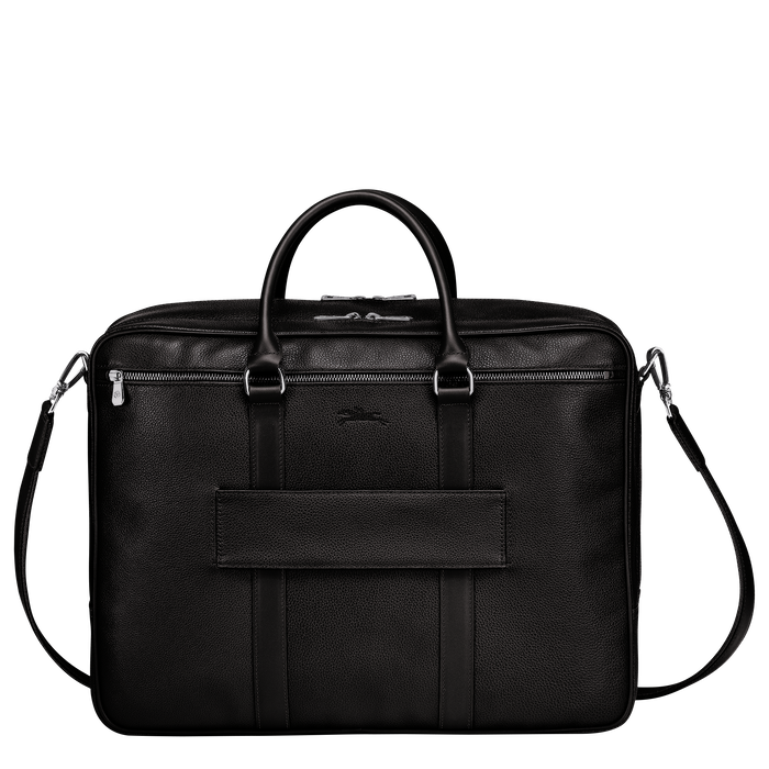Briefcase L, Black - View 3 of  3 - zoom in