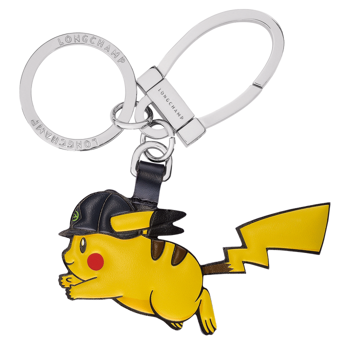 Horsecap Pikachu key ring, Yellow - View 1 of  2 - zoom in