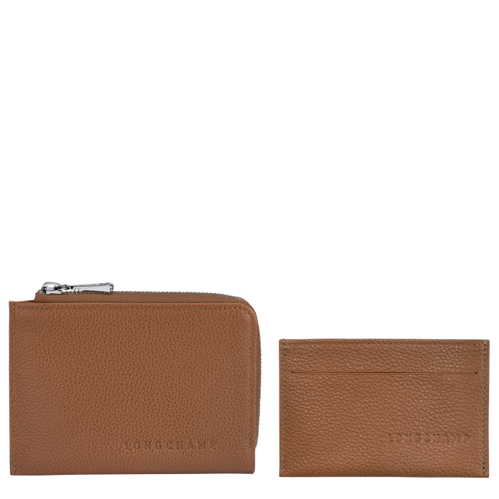 2-in-1 Wallet, Caramel - View 2 of 2 - zoom in
