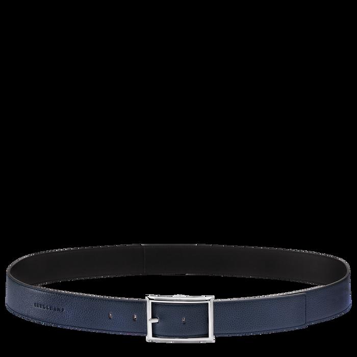 Men's belt, Navy/Black - View 1 of 1 - zoom in