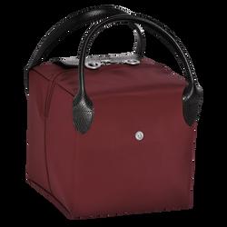 Handtasche S, E53 Burgundy/Schwarz, hi-res