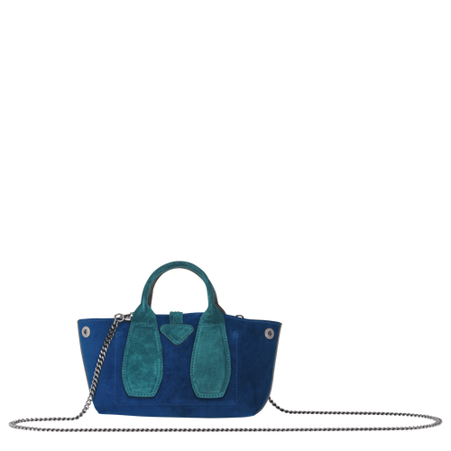 Top handle bag S, Midnight blue, hi-res - View 3 of 3