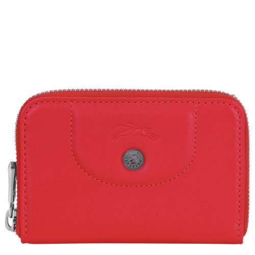 Coin purse, Red, hi-res - View 1 of 2