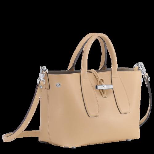 Top handle bag M, Natural, hi-res - View 2 of 3