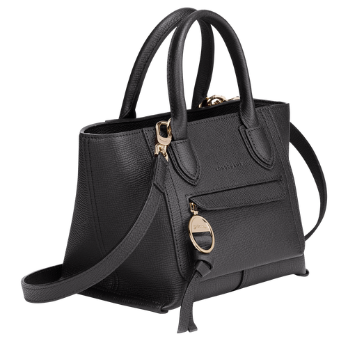 Top handle bag S, Black - View 2 of  3 -