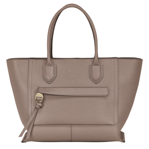 Top handle bag L, Taupe - View 1 of 4 -