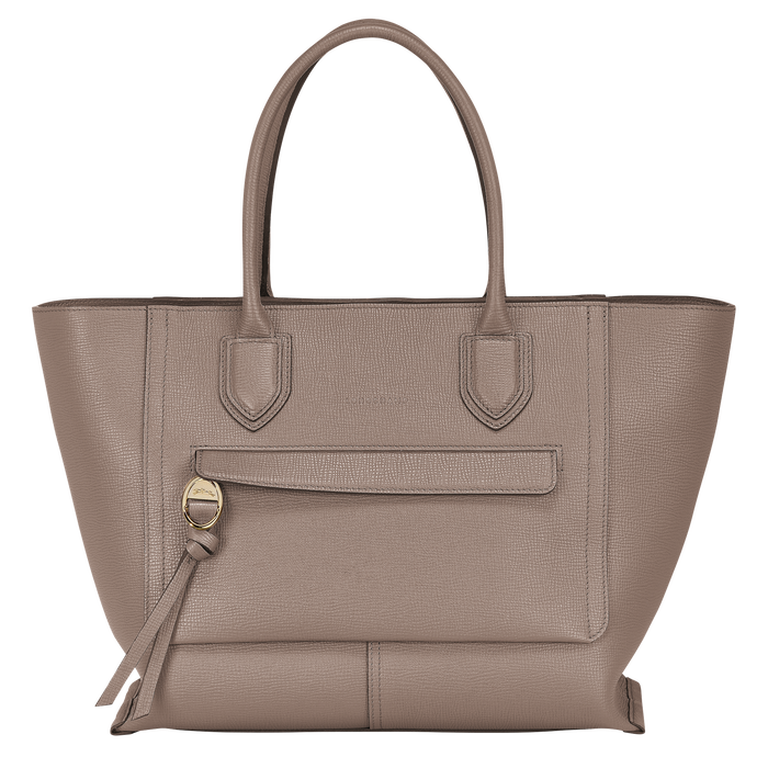 Top handle bag L, Taupe - View 1 of 4 - zoom in