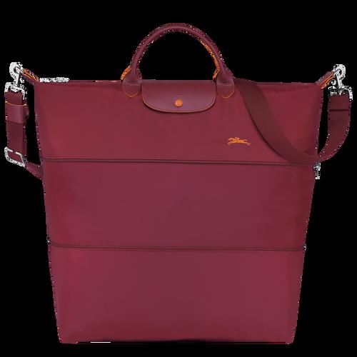 Travel bag Le Pliage Club Garnet Red (L1911619209) | Longchamp DK