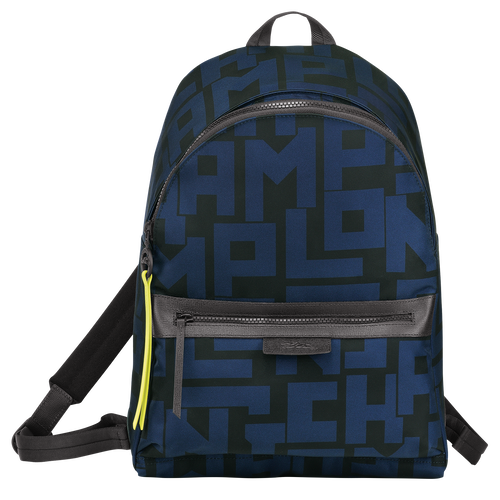 Backpack M, Black/Navy - View 1 of 4 -