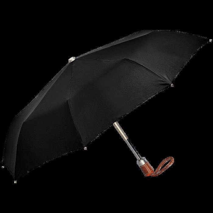 Parapluie homme Parapluie mat rétractable, Noir