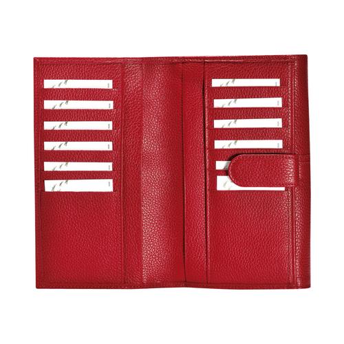 Continental wallet, Vermilion, hi-res - View 3 of 3
