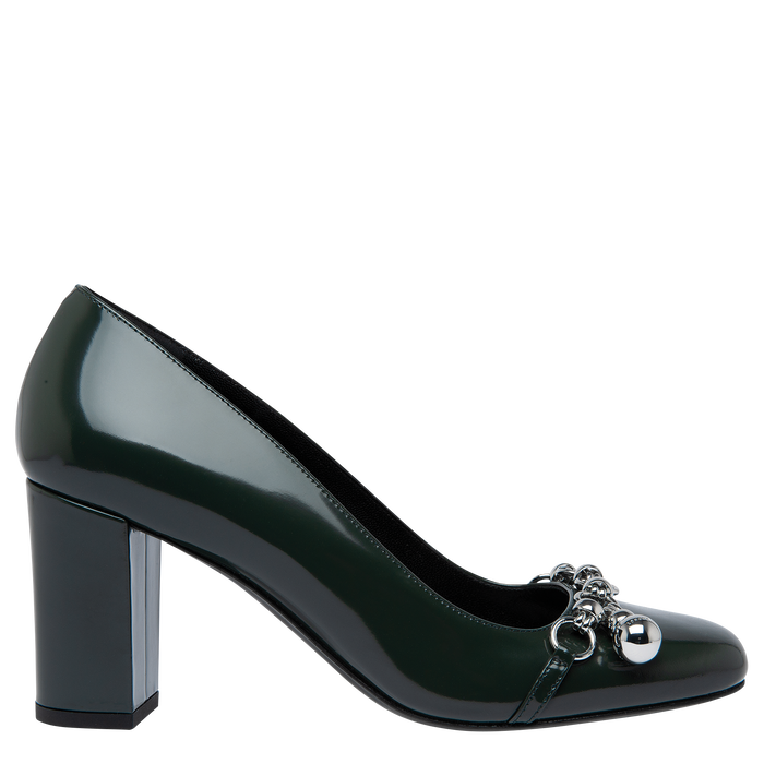 Pumps, Longchamp Green - View 1 of  2 - zoom in