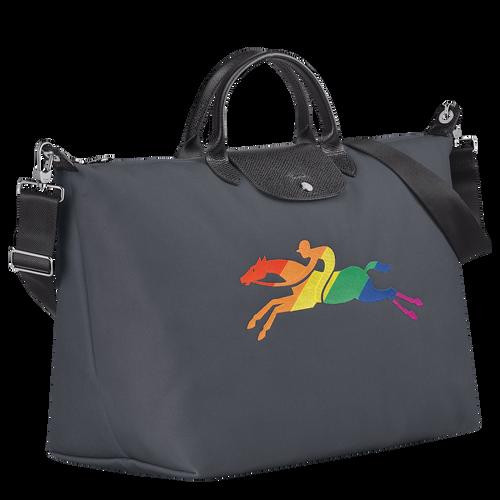 Le Pliage-Kollektion Reisetasche L, Metallgrau