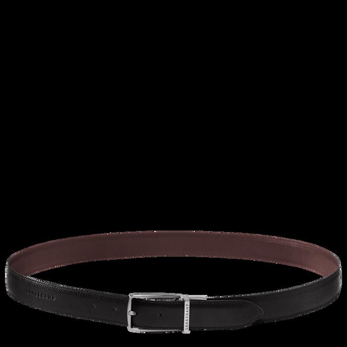 Men's belt, Mocha/Black - View 1 of  1 - zoom in