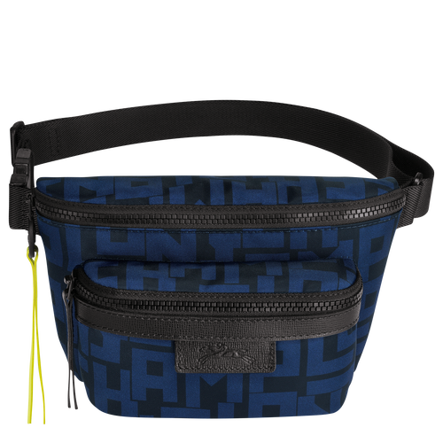 Belt bag M, Black/Navy, hi-res - View 1 of 3
