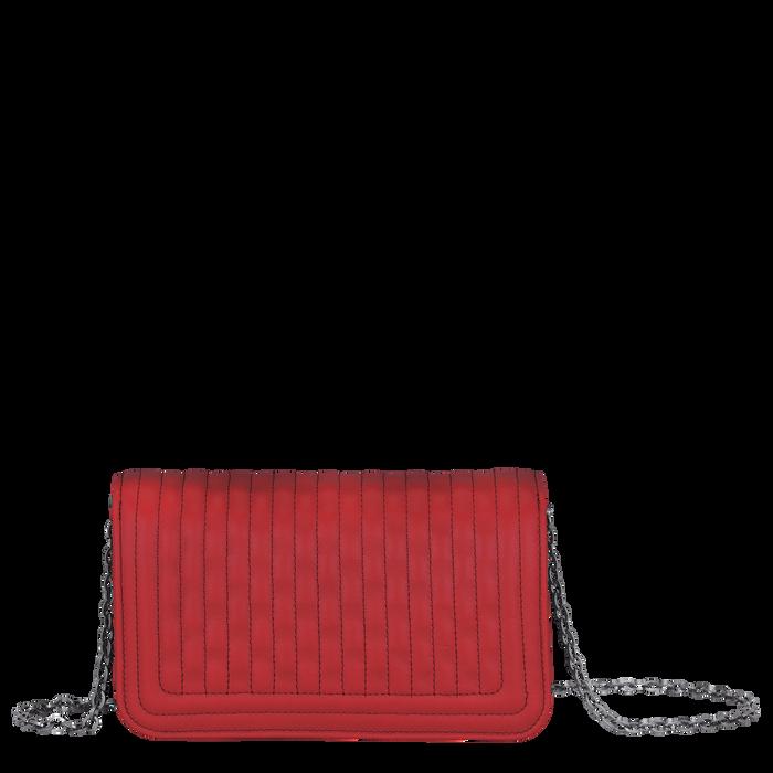 Geldbörse mit Kette, Rot - Ansicht 3 von 3 - Zoom vergrößern