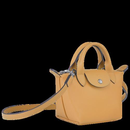 Tas met handgreep aan de bovenkant XS, Honing - Weergave 2 van  6 -