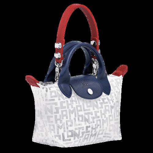 Mini top-handle bag, White, hi-res - View 2 of 3
