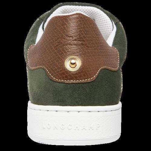 Sneakers, Vert Longchamp - Vue 3 de 5 -