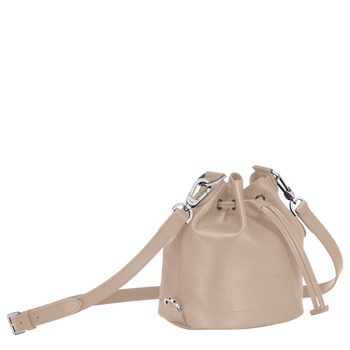 Bucket bag S, Beige - View 2 of  3 - zoom in