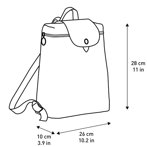Backpack, Black, hi-res - View 4 of 5