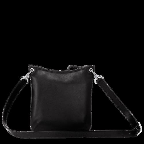 Sac porté travers Le Foulonné Noir (10041021047) | Longchamp FR