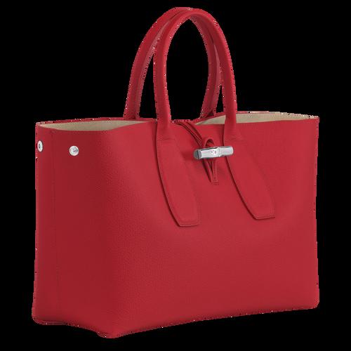 View 3 of Top handle bag L, Red, hi-res