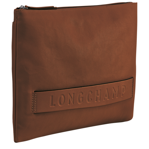 Large Pouch, Cognac, hi-res - View 2 of 3