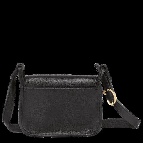 Le Foulonné Crossbody bag S, Black