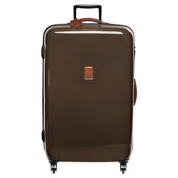 Wheeled suitcase, 042 Brown, hi-res
