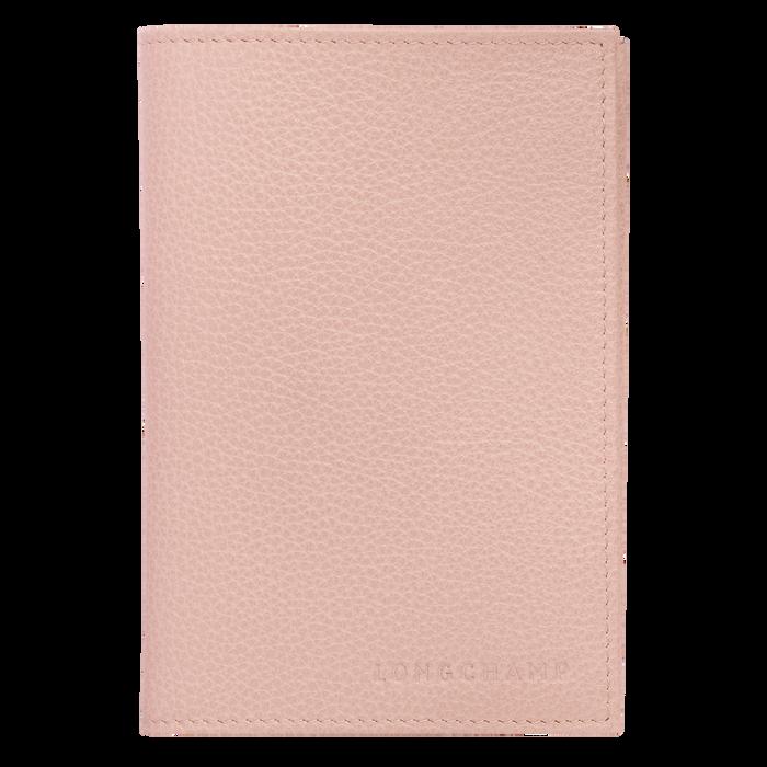 Le Foulonné Funda para pasaportes, Rosa pálido