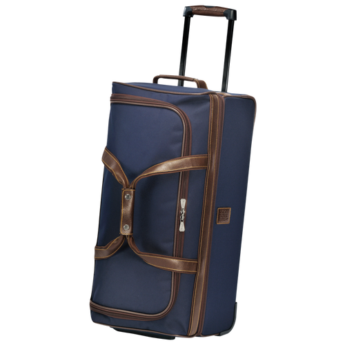 Wheeled duffle bag, Blue, hi-res - View 2 of 3