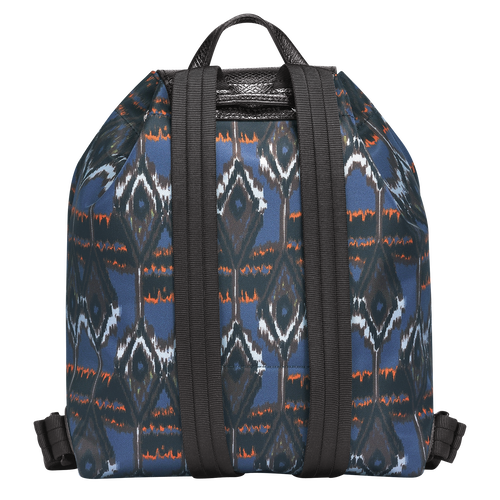 Ikat Backpack, 006 Navy, hi-res