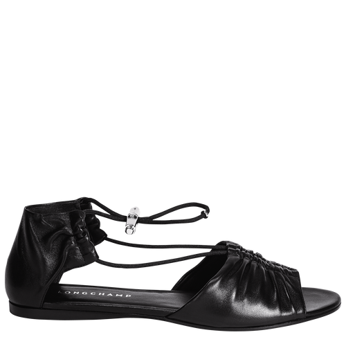 平底涼鞋, 黑色, hi-res - 1 的視圖 3