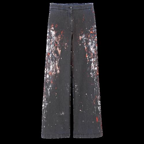 Pantalon, Marine - Vue 1 de 1 -