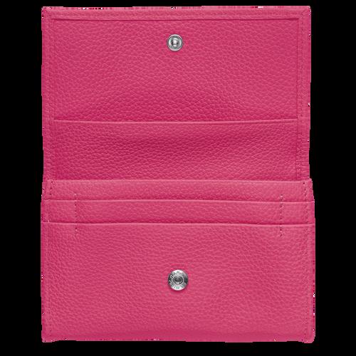 Le Foulonné Coin purse, Pink/Silver
