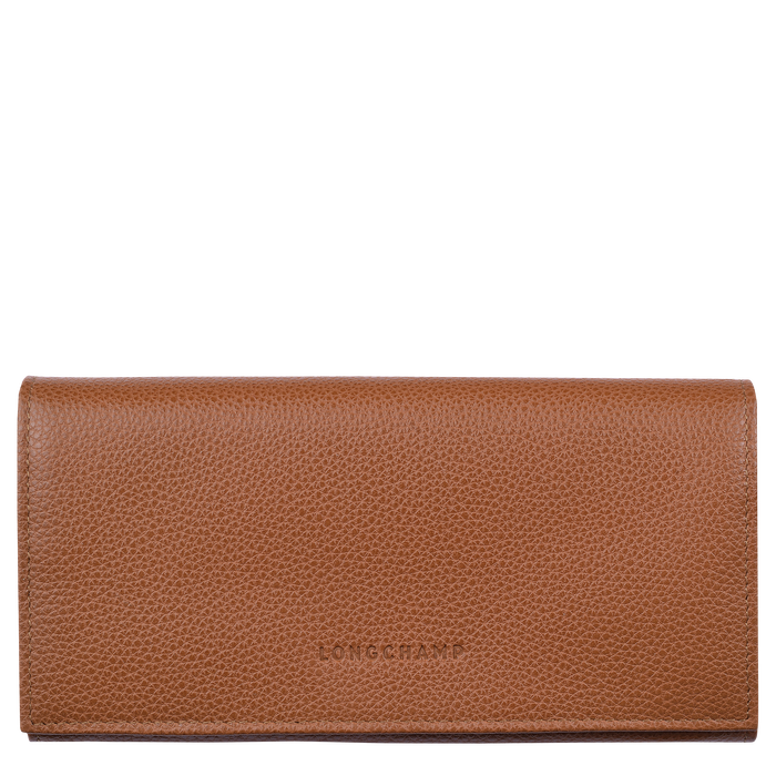 Long continental wallet, Caramel - View 1 of  2 - zoom in