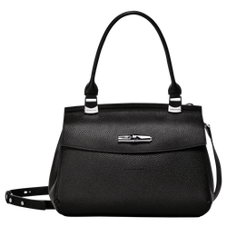 Top handle bag S, 001 Black, hi-res