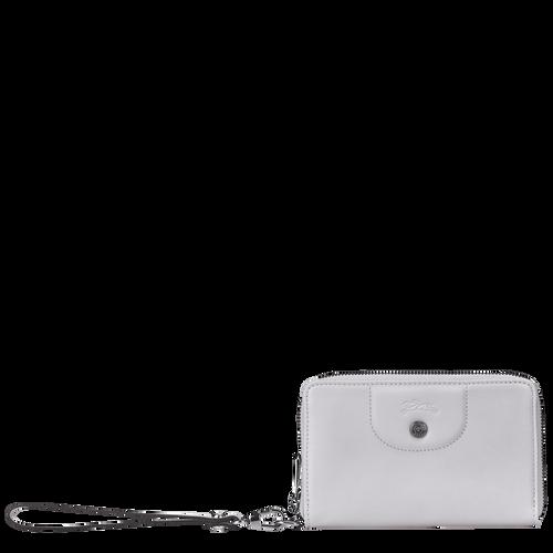 Brieftasche im Kompaktformat, Grau - Ansicht 1 von 2 -