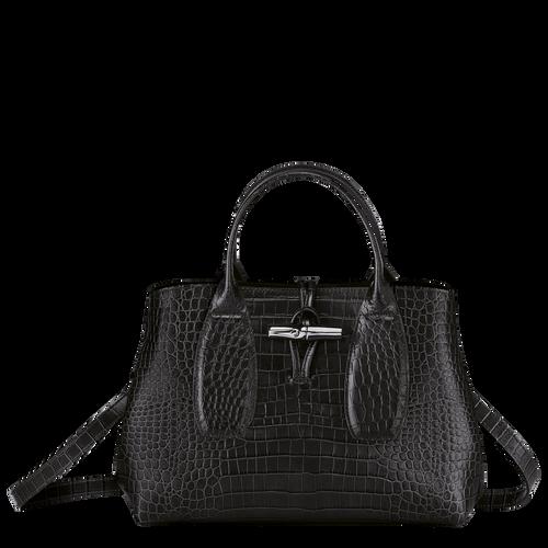 Top handle bag M, Black/Ebony - View 1 of 4 -