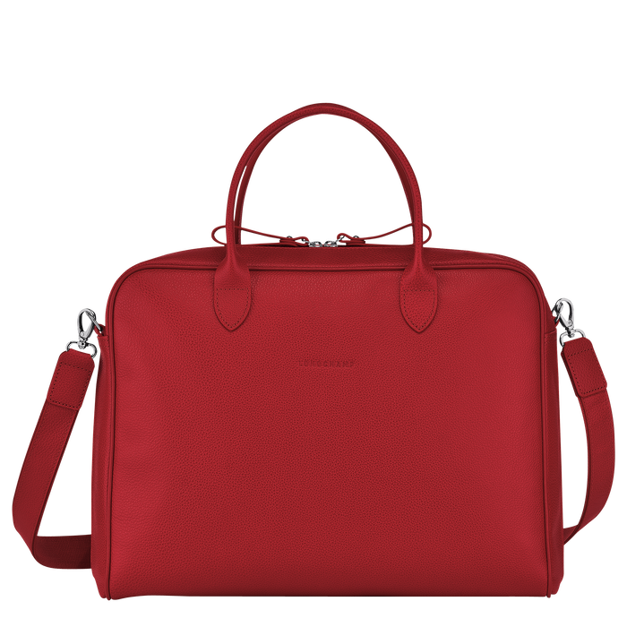 Briefcase M, Red, hi-res - View 1 of 3