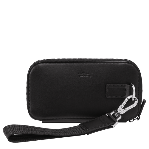 Long zip around wallet, Black, hi-res - View 3 of 3