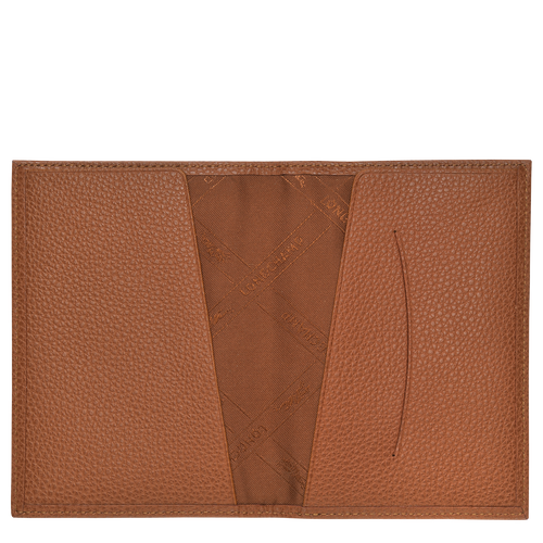 Passport cover, Caramel - View 2 of 2 -