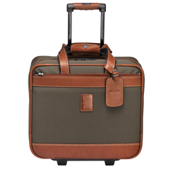 Wheeled suitcase, 042 Brown, hi-res