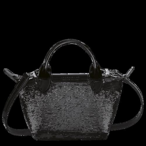 Tas met handgreep aan de bovenkant XS, Zwart/Ebbenhout - Weergave 3 van  3 -