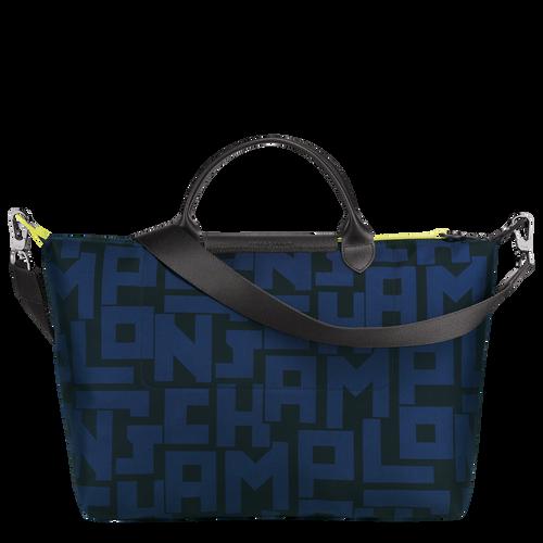Top handle bag L, Black/Navy - View 3 of 4 -