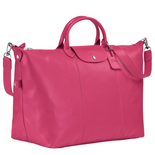 Travel bag L, Pink/Silver - View 2 of  3 -
