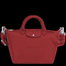 Top handle bag M, Red